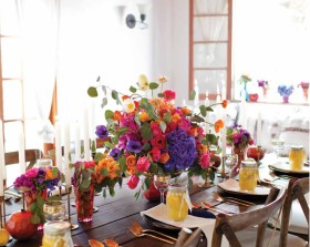 Moroccan Tablescape for Palm Springs Style Magazine by Studio Kate Floral Palm Springs Event Floral Designs